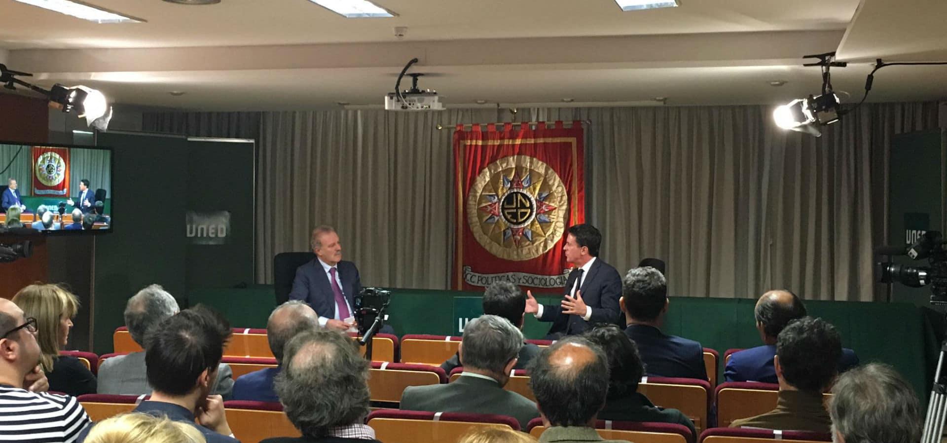 El presidente de Next entrevista a Manuel Valls