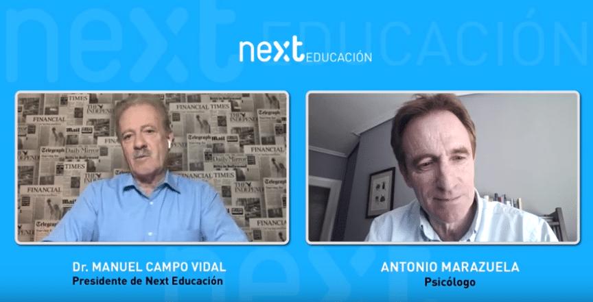 """Foro Next """"Psicología contra el coronavirus"""" con el psicólogo Antonio Marazuela"""
