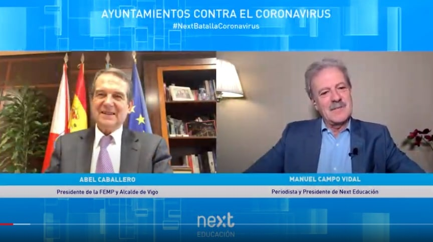 Abel Caballero, presidente de la FEMP y alcalde de Vigo, en Foro Next
