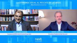 """Foro Next """"La economía social al rescate de la crisis"""", con Juan Antonio Pedreño"""