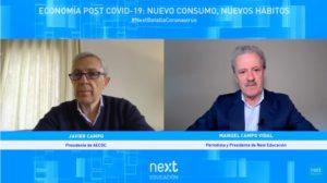 Javier Campo, presidente de AECOC, en Foro Next