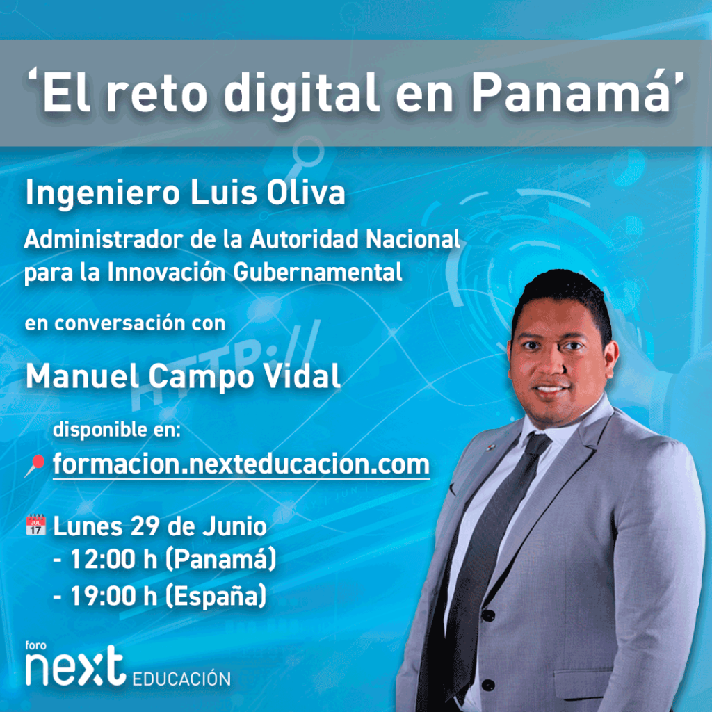 Foro Next Educación con Luis Oliva